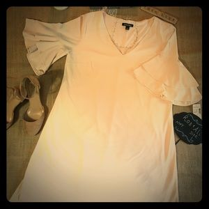 Roz & Ali Blush Swing Dress - Large - NWT